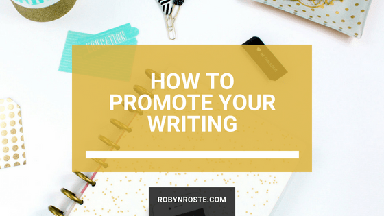 How to promote your writing on social media