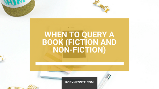 When to query a book