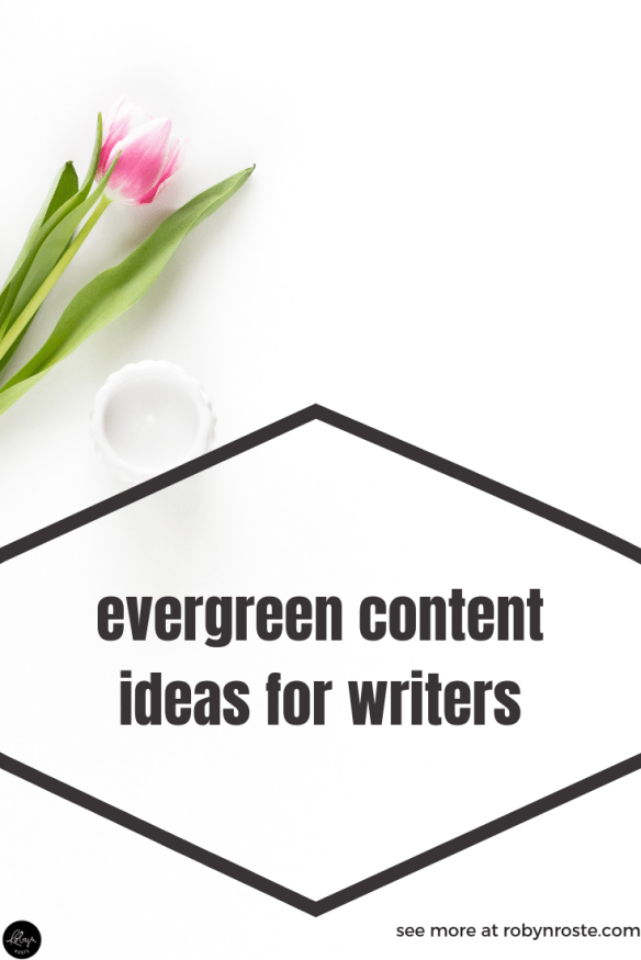 One of the hardest thing about being a working freelance writer is coming up with content for your personal website and digital platforms, which is why you need an evergreen content strategy. Trust me on this, it will change your life.