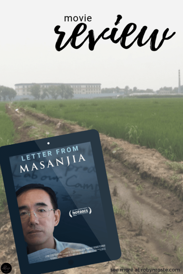 Letter from Masanjia is a powerful documentary about an American woman who finds a letter from a prisoner in a Chinese labour camp in a Halloween decoration.