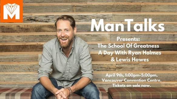 ManTalks Presents An Afternoon of Greatness