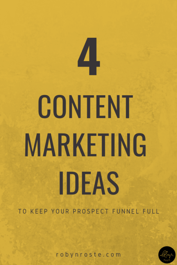 If you're a business owner or freelancer on any level you know the importance of keeping the content marketing ideas flowing.