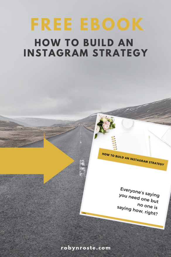 Today I'll show you the basic outline for building an Instagram strategy. At least enough to get you started. And yes, this is a how-to!