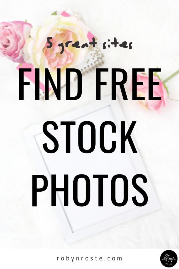 These days there are endless sites to get amazing free stock photos. There are so many sites there's no excuse not to have great images on your website.