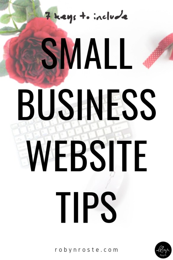 You're probably here because you heard that you need a small business website. And you're like, OK, great. But what does that mean? Here's a quick look at seven key pieces of information to include on your website.