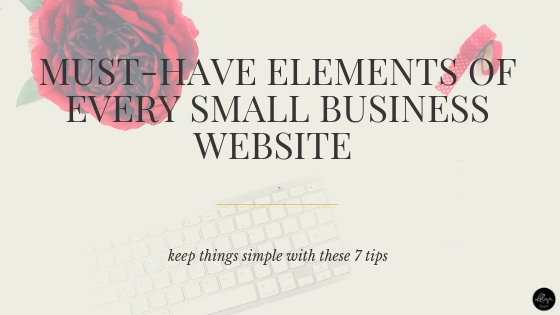 Small Business Website Tips