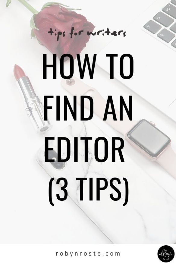 If you're a writer wondering how to find an editor I'm here to tell you, you're not alone. This is one of the most common questions I receive!   Now, you (the writer) might feel like hiring someone to edit your work is unnecessary. The truth is, a good editor makes your writing better and it's in your best interested to work with one if you can. They aren't as close to your precious words and sentences (and commas and semi-colons) as you are and can give objective—not personal—advice on how to improve your work.
