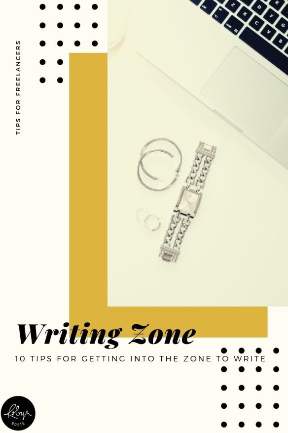 Getting in the zone to write can feel like a big challenge. It requires a careful balance of both creativity and productivity.   And if you're trying to write to deadline, this could end up being stressful.   Or, perhaps, impossible.  Here are 10 tips for getting into the zone to write.