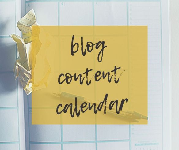 How to Create a Blog Content Calendar