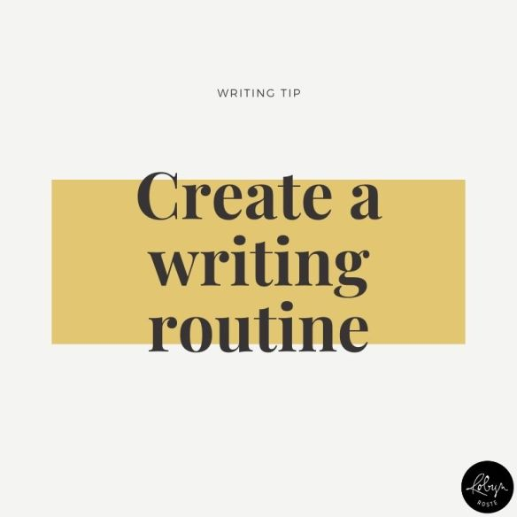 I know, I'm talking about routines again. But here's the thing, they work. The important thing to figure out is what works for you and build a routine around that. Don't build your work day around what works for someone else. You are unique.