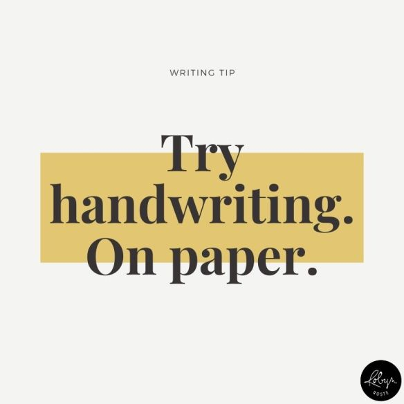 Whenever I need a boost of creativity I take to my spiral notebook. There's something about handwriting that triggers motor memory in a way keyboard clacking doesn't. Why not give it a try? What's the worst that can happen? You get a hand cramp?⠀