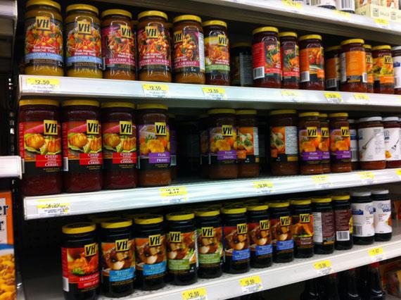 Shopping for VH sauce