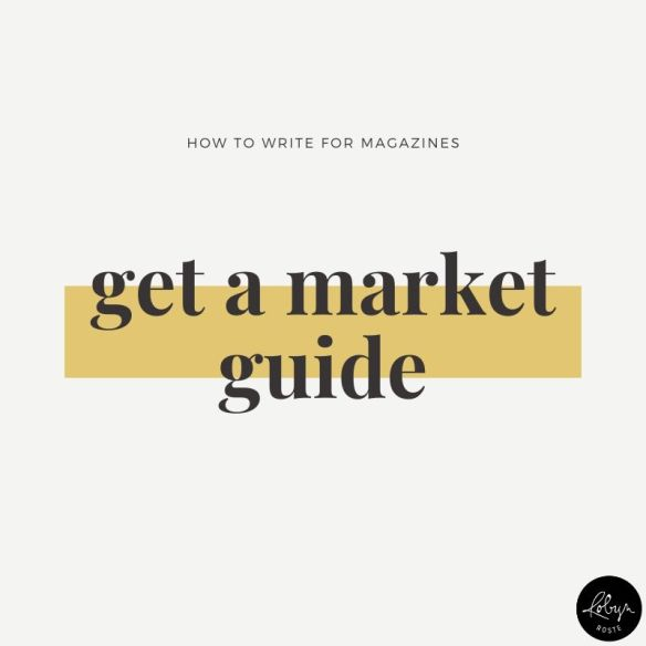 Tip 7: Wondering which publications pay? Get a market guide
