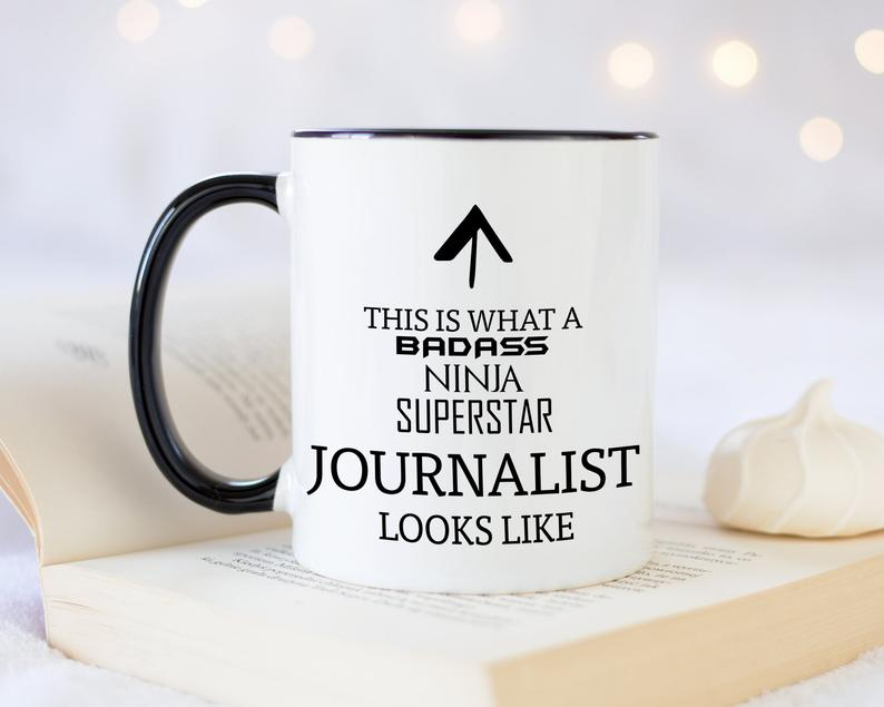 Gifts for writers | This is what a badass ninja superstar journalist looks like