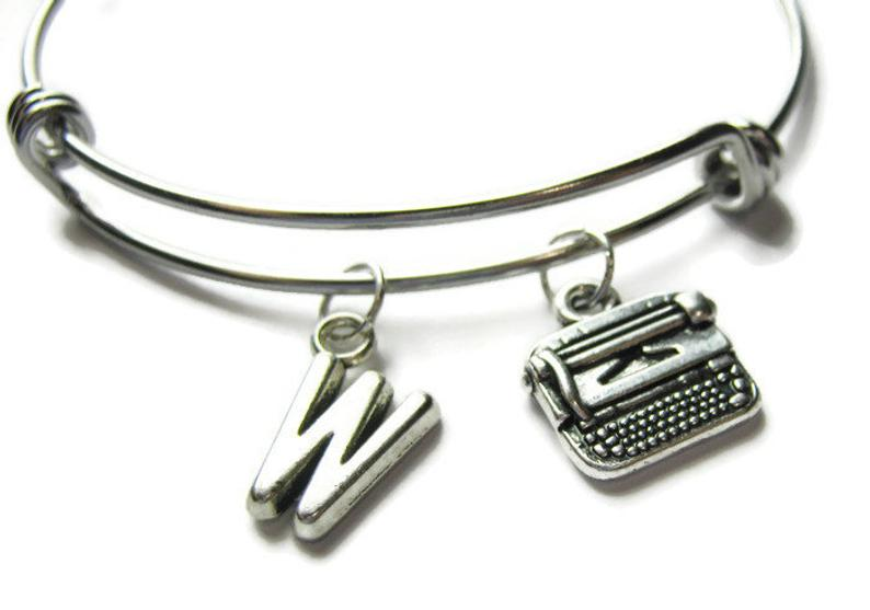 Gifts for writers | Typewriter bangle