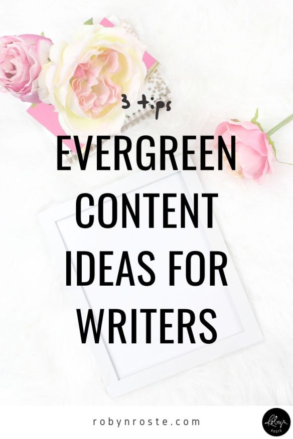 One of the hardest thing about being a freelance writer is coming up with content for your website, which is why you need an evergreen content strategy.