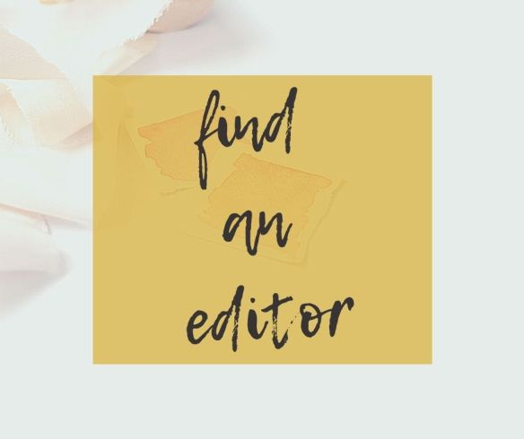 How to find an editor | 3 tips