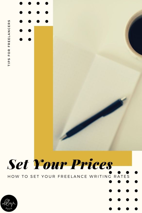 Do you struggle to set your freelance writing rates? Knowing what to charge for different services can seem like a mystery or even like a shot in the dark, but it doesn't have to be!