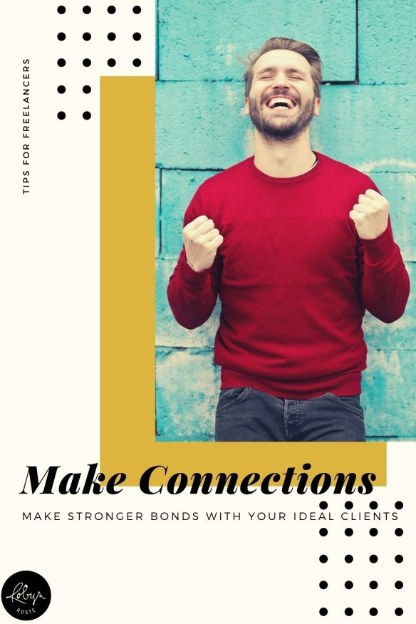 Wondering how to make stronger connections online with your clients or prospects? It comes down to understanding your ideal readers/clients/customers.