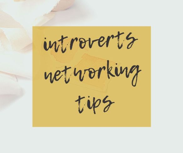 Networking tips for introverted writers