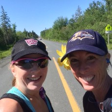 Meet up with Sharon, who finished with a solid time that was good for fifth in her age group!