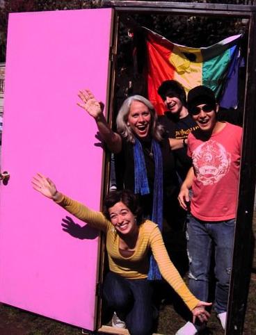The Pink Door by Stephen Silva
