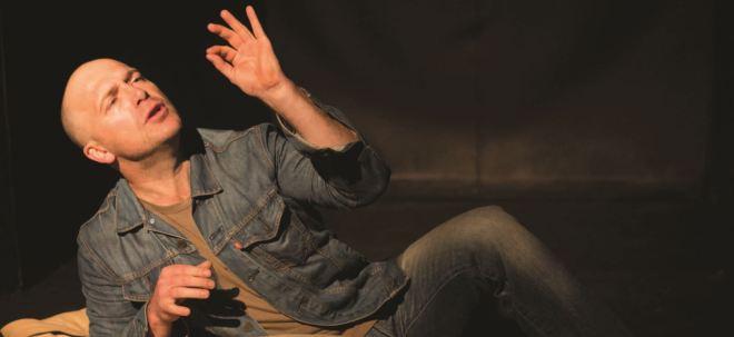 Bosbefok: Craig Morris is Johnny Boskak. Photograph by Kate Janse, courtesy cue.ru.ac.za