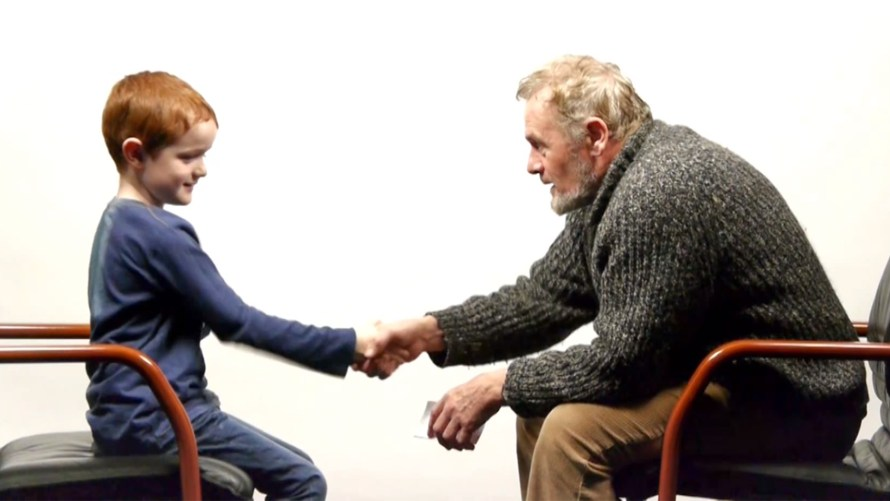 57 Years Apart- A Boy And a Man Talk About Life