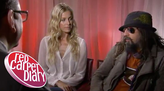 Rob and Sheri Moon Zombie speak to red carpet diary