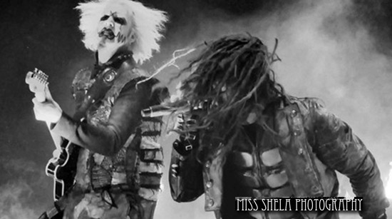 Rob Zombie and John 5 in Detroit. Photo by Miss Sheilas Photography