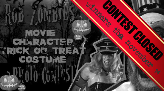 Rob Zombie contest closed
