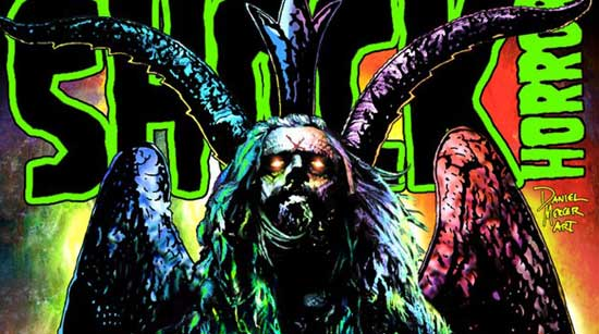 Shock Horror Magazine Rob Zombie Daniel Mercer Art