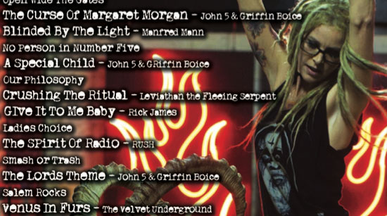The Lords of Salem tracklist tease