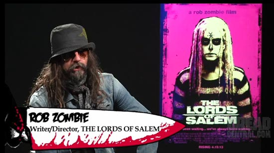 Rob Zombie Dread Central interview
