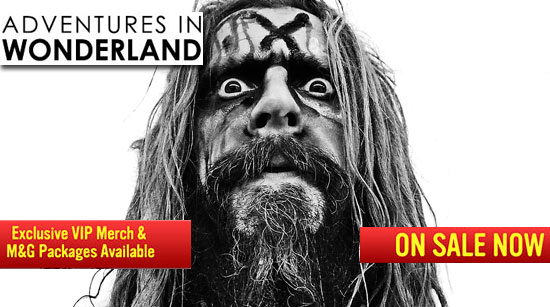 Rob Zombie Alice in Wonderland VIP Mayhem 2013