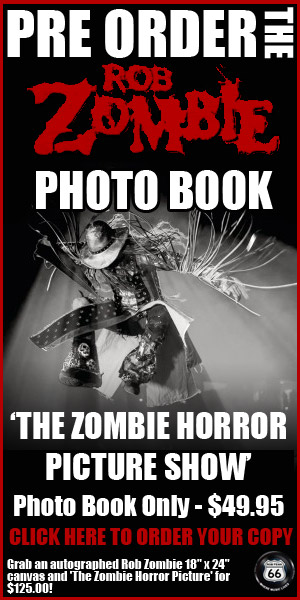 Pre Order The Zombie Horror Picture Show with photos by Rob Fenn