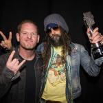 Rob Zombie and Corey Taylor