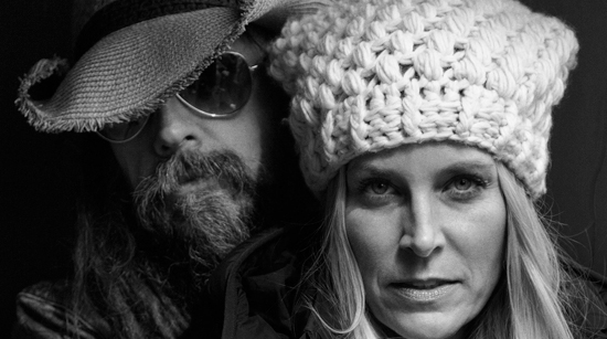 Rob Zombie Sheri Moon Zombie photo by Steven Stone