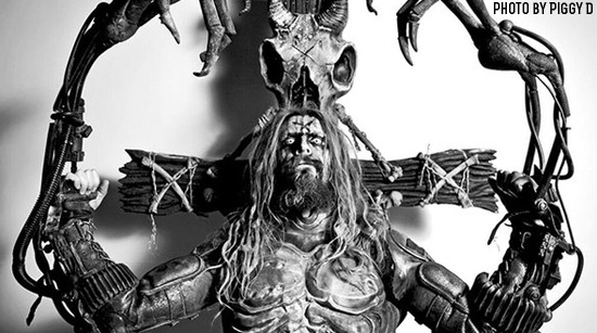 Rob Zombie. Photo by Piggy D
