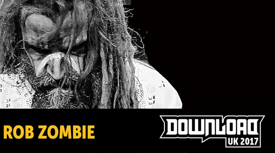 Rob Zombie Download Festival 2017