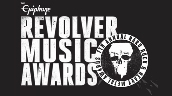Epiphone Revolver Music Awards 2016