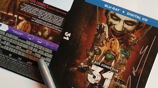 Rob Zombie Fanbacked DVDs