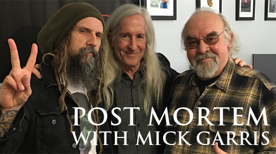 Rob Zombie Post Mortem Mick Garris