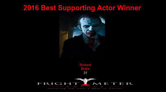 Richard Brake Best Supporting Actor 31 Fright Meter