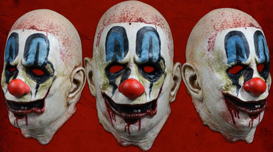 Psycho Clown Mask Rob Zombie 31 Trick or Treat Studios