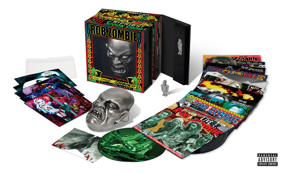 Rob Zombie Vinyl Box Set