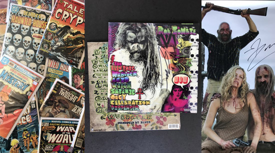 Rob Zombie collectables