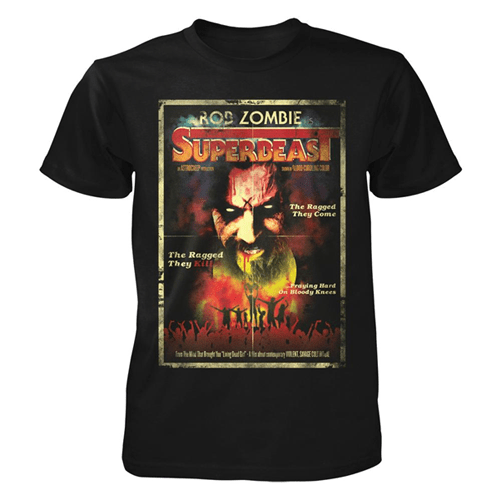 Superbeast Poster Tee Rob Zombie