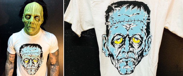 Rob Zombie Local Boogeyman Zomboogey Frankenstein shirt