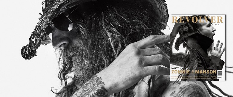 Rob Zombie Marilyn Manson Revolver Magazine April May 2019